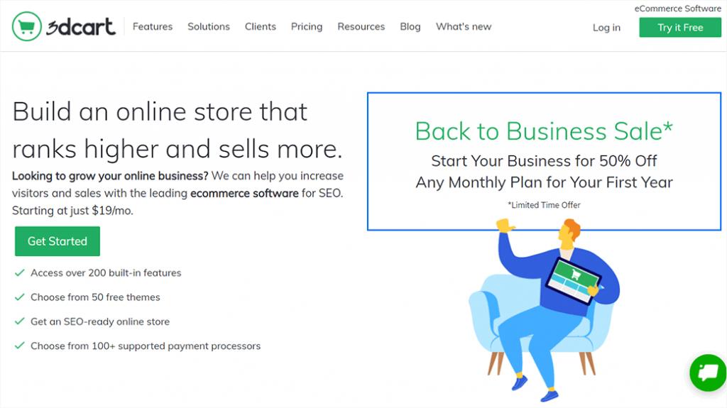 3dCart eCommerce Service
