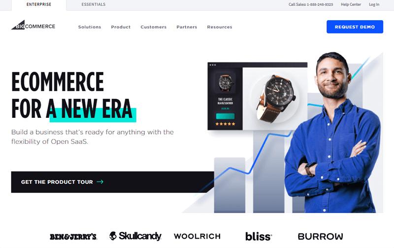 BigCommerce a popular eCommerce WordPress Alternative