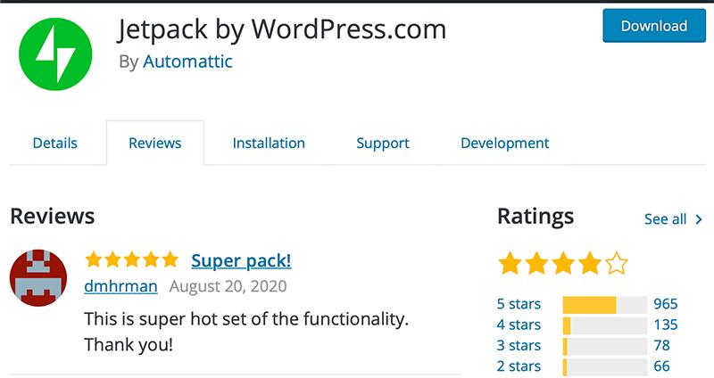 Jetpack Plugin Review