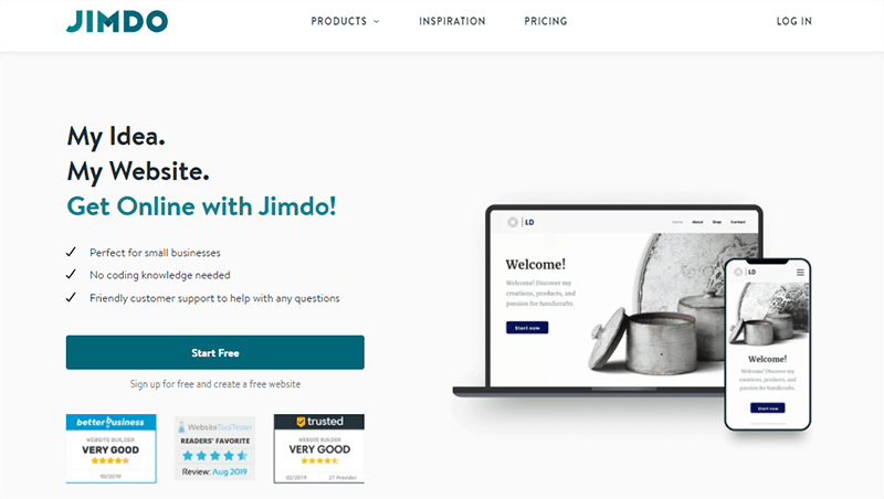 Jimdo a Popular WordPress Alternative
