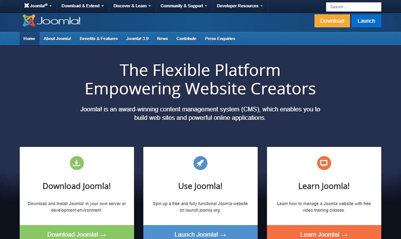 Joomla a Popular Content Management System