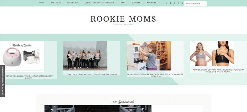 Rookie Moms a Popular Parenting Blog