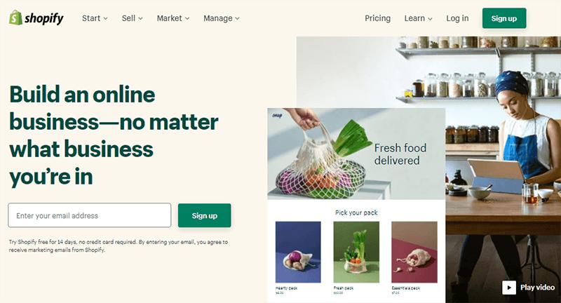 Shopify Online Store Platform