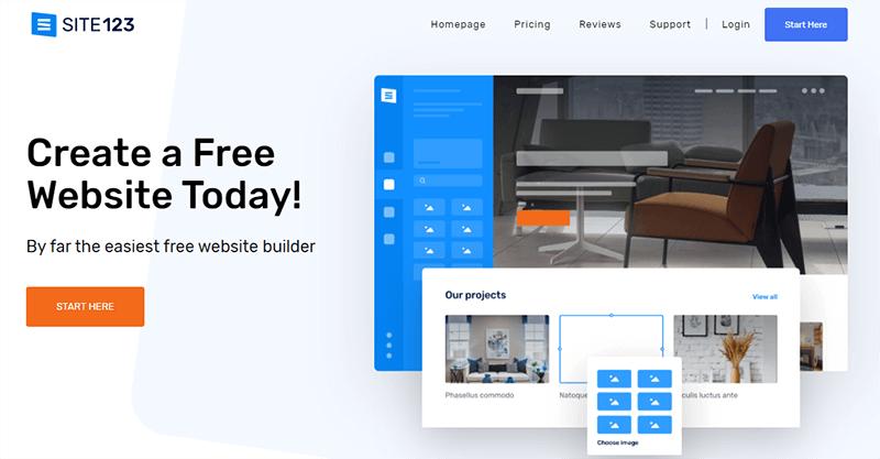 Site123 an Easier WordPress Alternative
