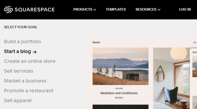 Squarespace a Blogging Platform