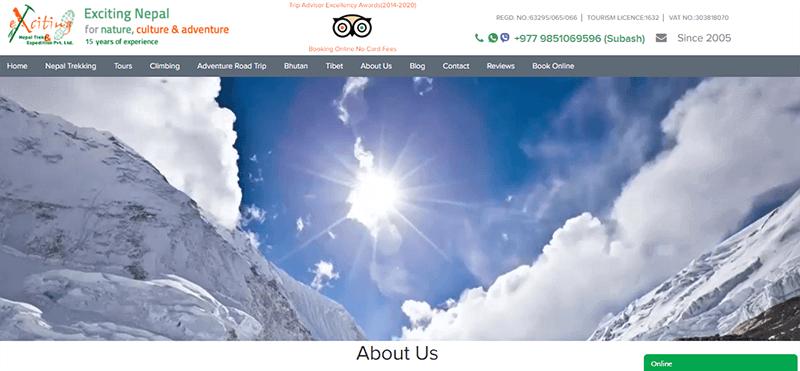 Travel Agency a Popular Travel Blog
