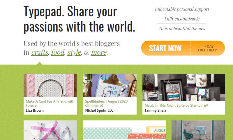Typepad A Blogging Platform