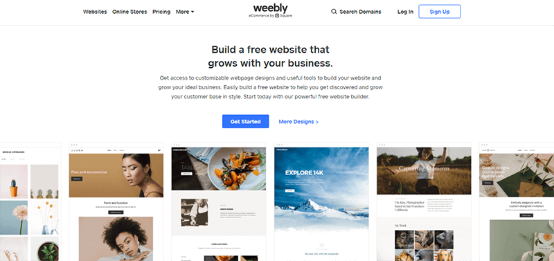 Weebly a Popular WordPress Alternative