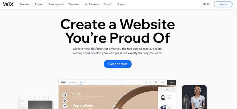 Wix a Blogging Platform