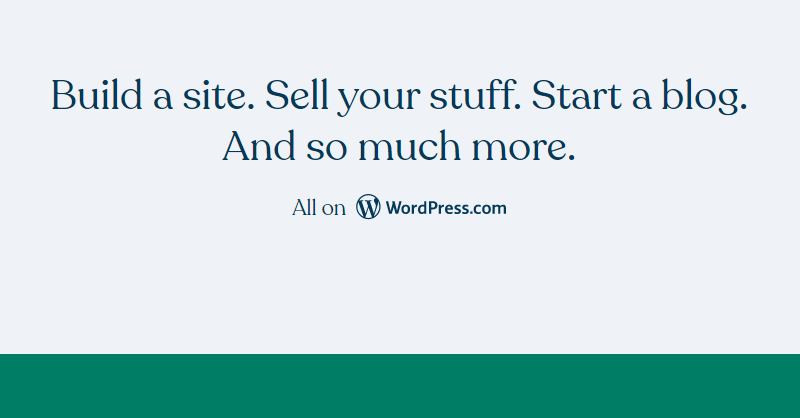 WordPress.com a Popular Blogging Platform