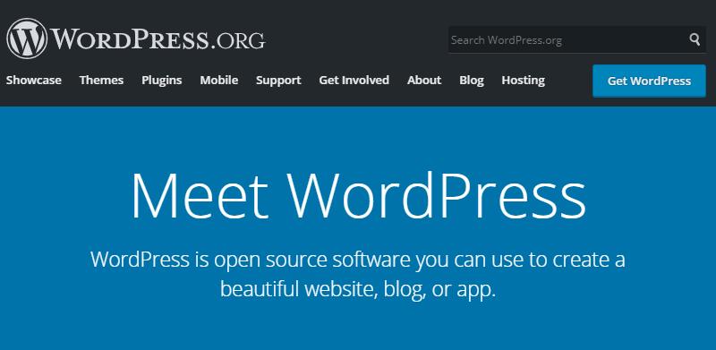 WordPress.ORG Dashboard