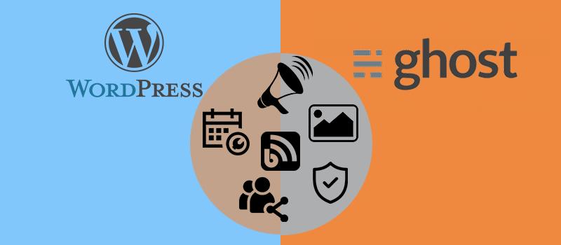 WordPress vs Ghost Features