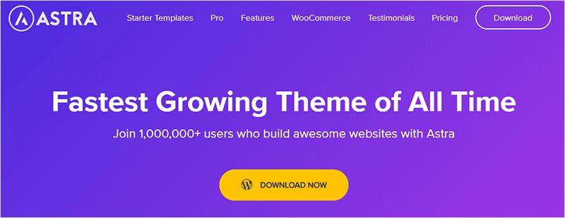 Astra Free Popular WordPress Theme