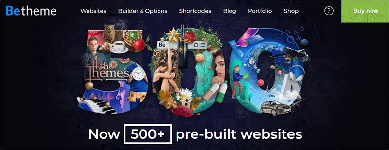 BeTheme Most Popular WordPress Theme