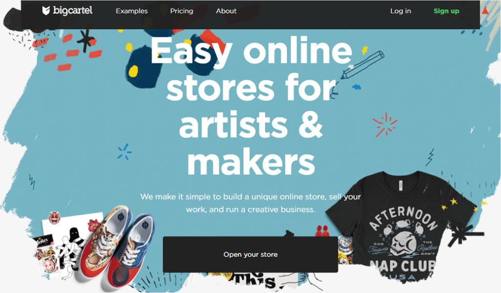 Big Cartel eCommerce Platform