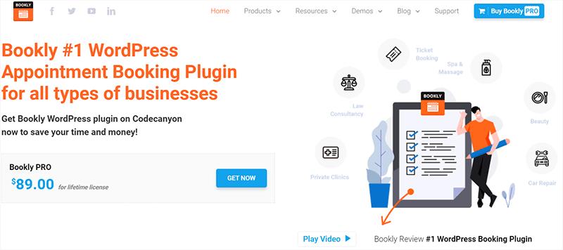 Bookly Pro Most Popular WordPress Plugins