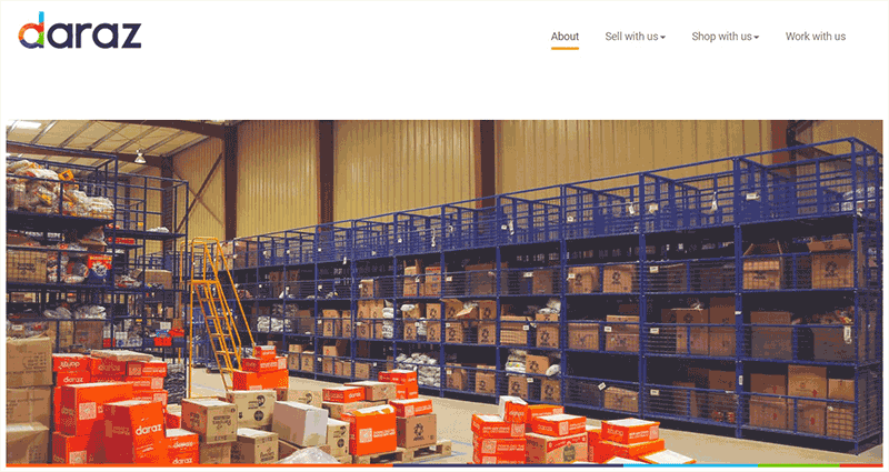 Daraz eCommerce Website