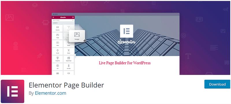 Elementor Popular WordPress Plugin