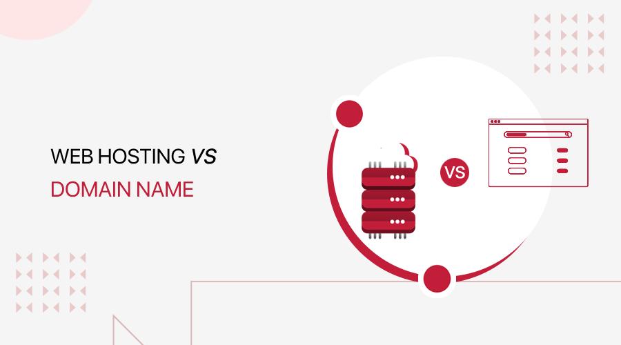 Web Hosting vs Domain Name