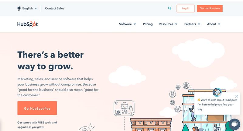 HubSpot Login Page