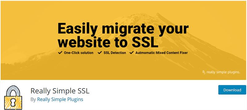Really Simple SSL Popular WordPress Plugin