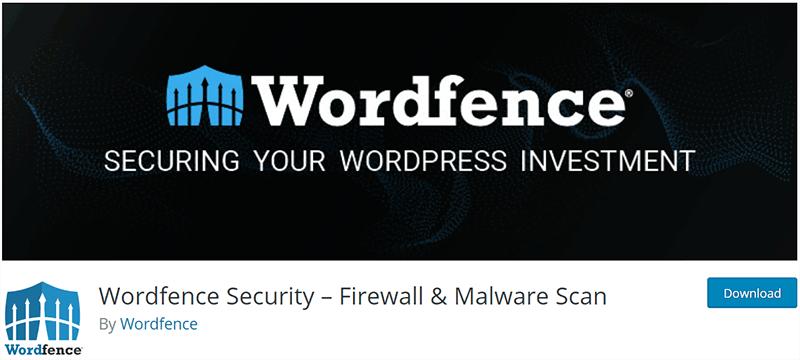 Wordfence Popular WordPress Plugin