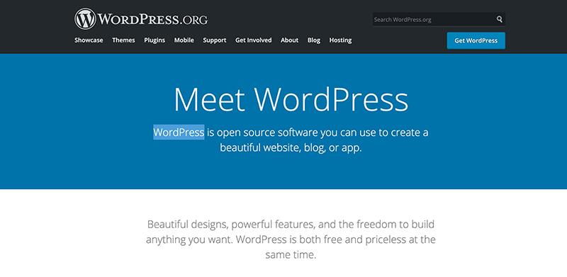 Wordpress.org platform