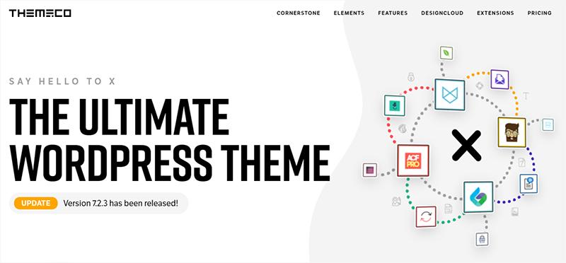 X Theme Most Popular WordPress Theme