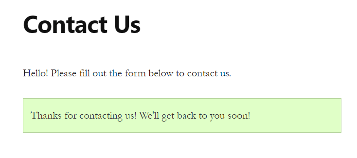 Confirmation Message sent with WPForms