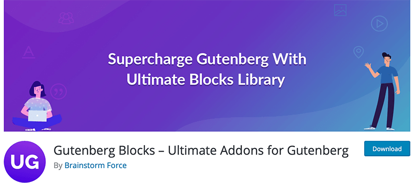 Gutenberg Blocks Ultimate Addons