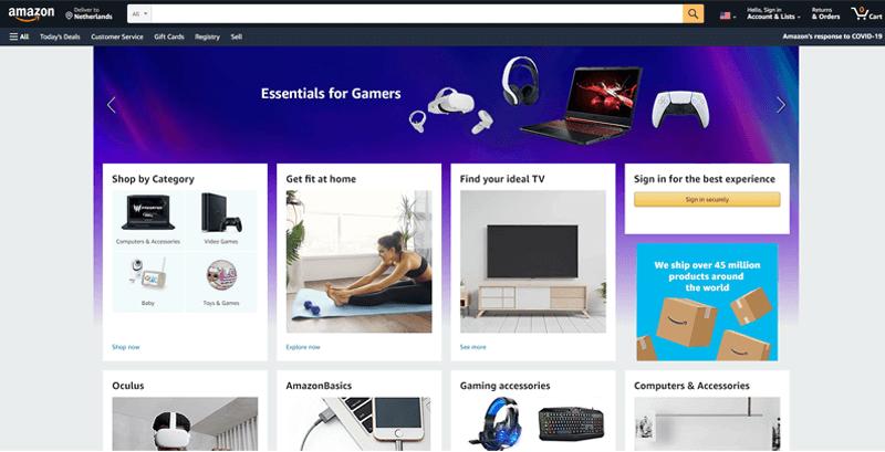 Amazon Ecommerce Website
