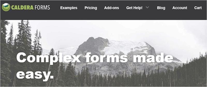 Caldera Forms WordPress Plugin