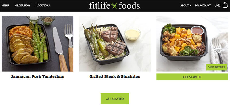 Fitlife Food WooCommerce online Store