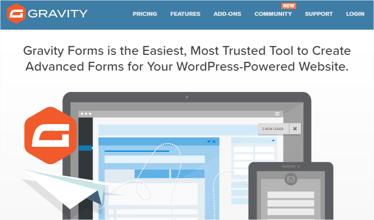 Gravity Forms Form Builder Plugin