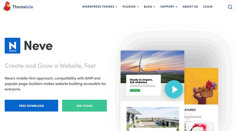 Neve Free Popular WordPress Theme