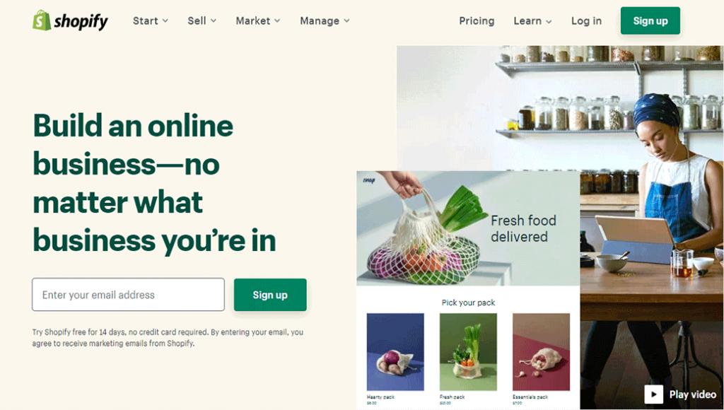 Shopify eCommerce Service