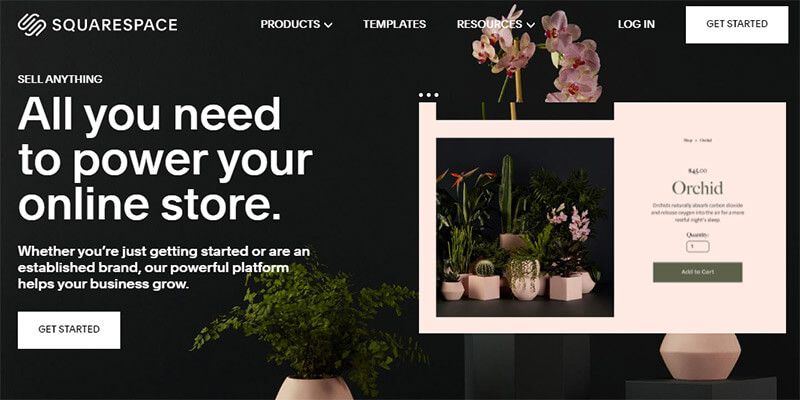 Squarespace Online Store Platform