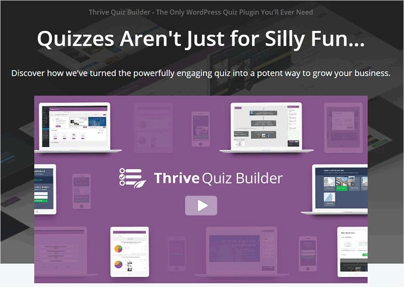 Thrive Quiz Builder Plugins
