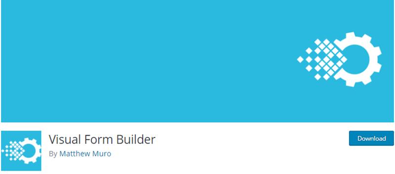 Visual Form Builder Contact Form Plugin