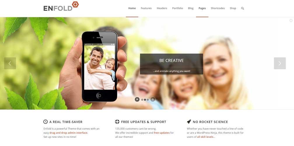 Enfold Most Popular WordPress Theme