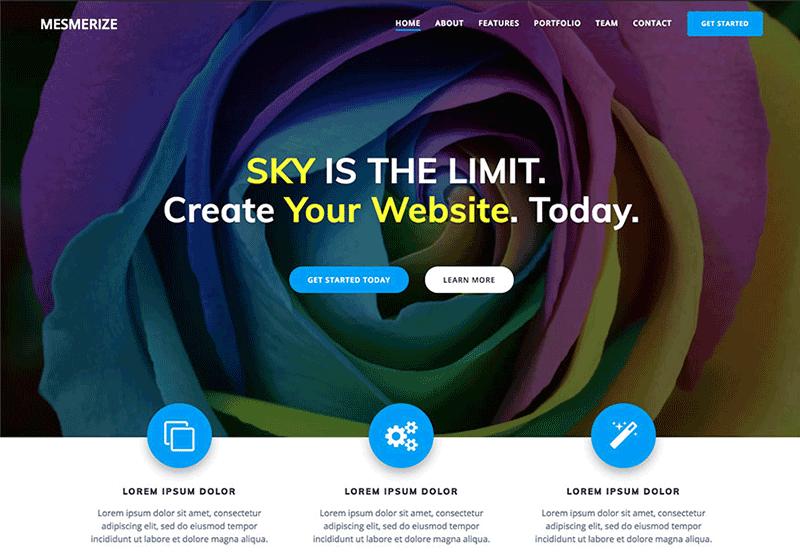 Mesmerize WordPress Theme