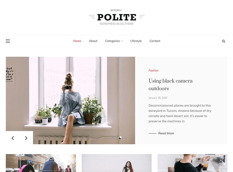 Polite WordPress Theme