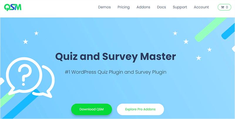 Quiz and Survey Master Plugin