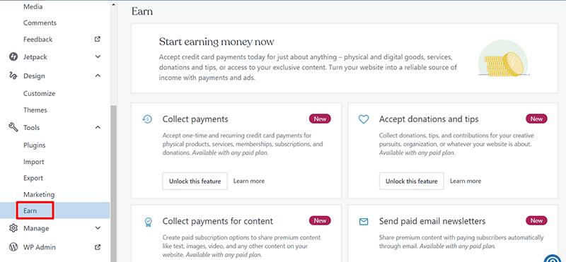 WordPress.com Monetization