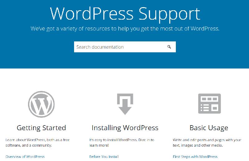 WordPress.org Support