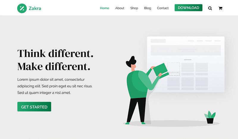 Zakra WordPress Theme