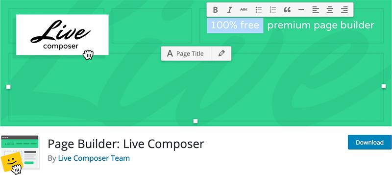 Page Builder : Live Composer