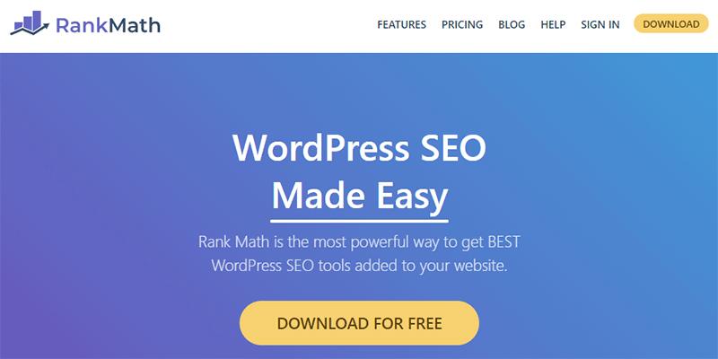 Rank Math WordPress SEO Plugin and Tool