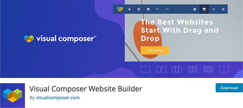 Visual Composer Website Builder