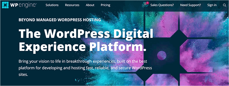 WP Engine Dedicated WordPress Hosting